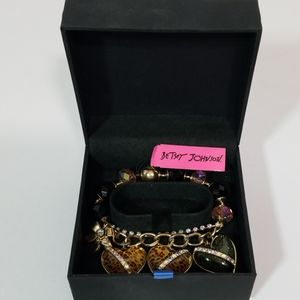 NWT Betsey Johnson Bracelet In Box